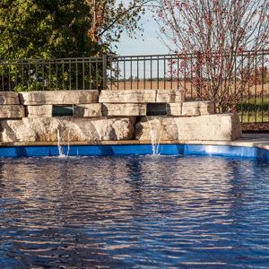 fiberglass inground swimming pools DeKalb IL