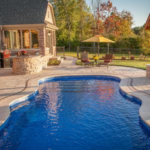 fiberglass inground swimming pools Hoffman Estates IL
