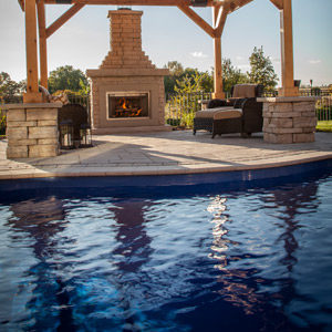 fiberglass inground swimming pools Huntley IL