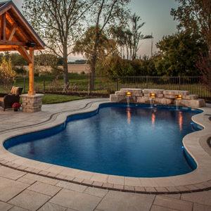 fiberglass inground swimming pools Marengo IL