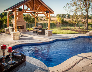 fiberglass pool builder Rockford