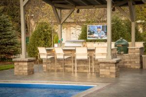 swimming pool builder belvidere